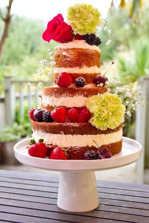 Naked cake MLCC
