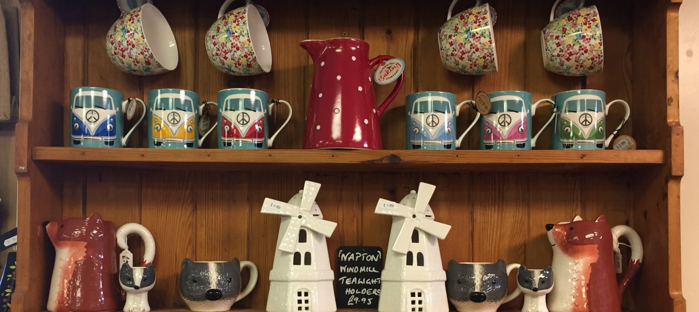 We have a lovely range of gifts in store.