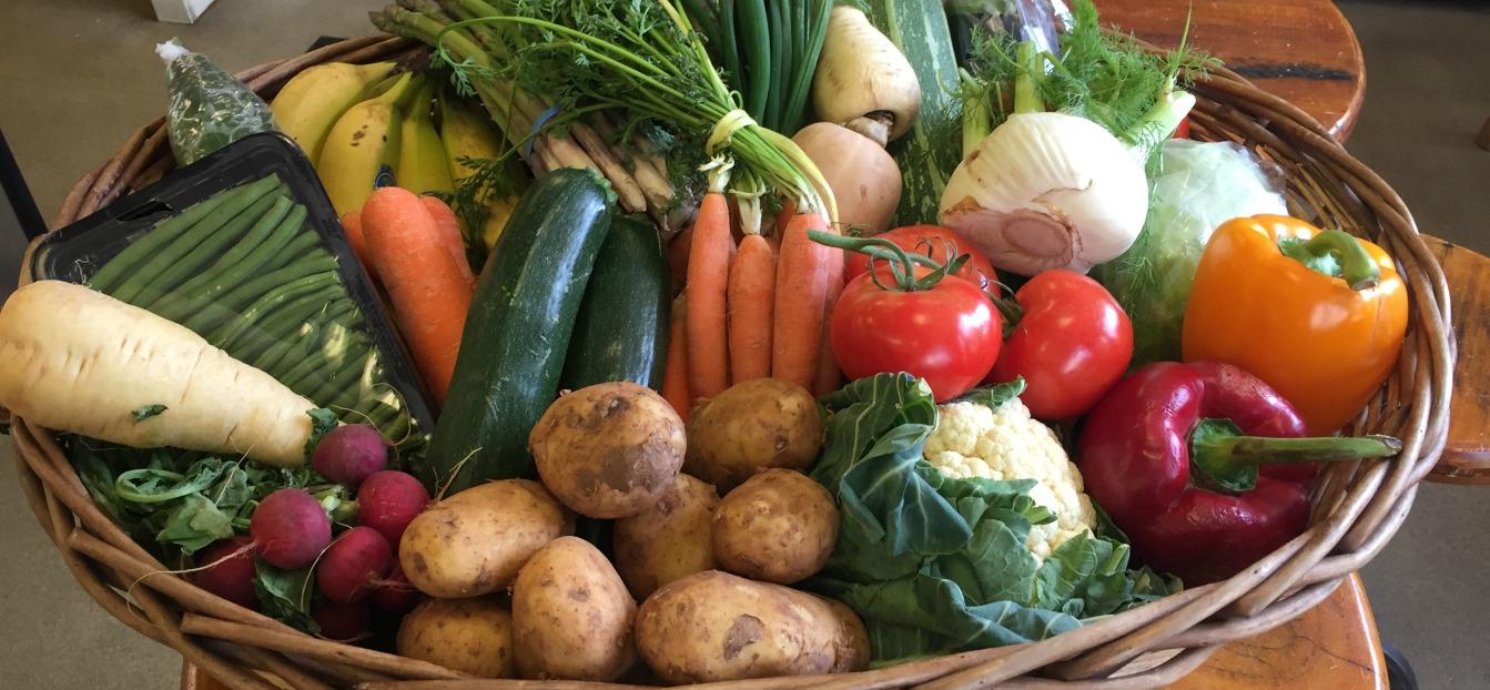 Order a village veg box.