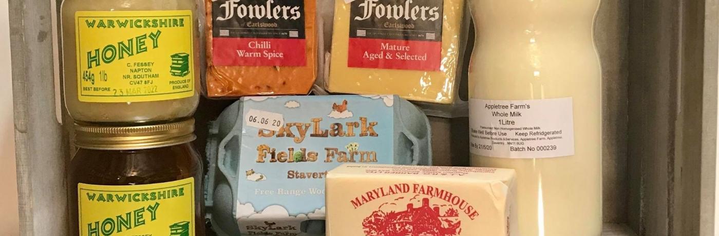 Local & English produce